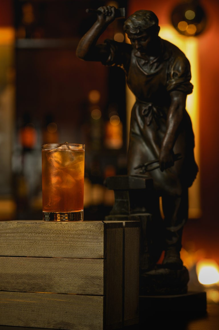 speakeasy tumbler cocktail