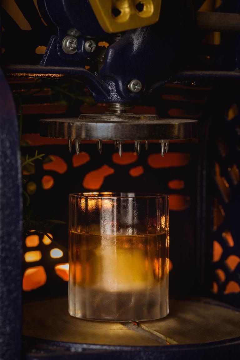 speakeasy old fashion whiskey cocktail