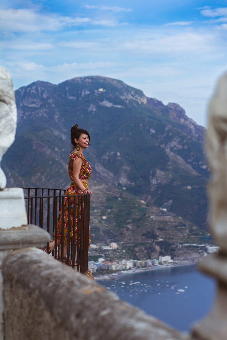 amalfi coast ravello portrait