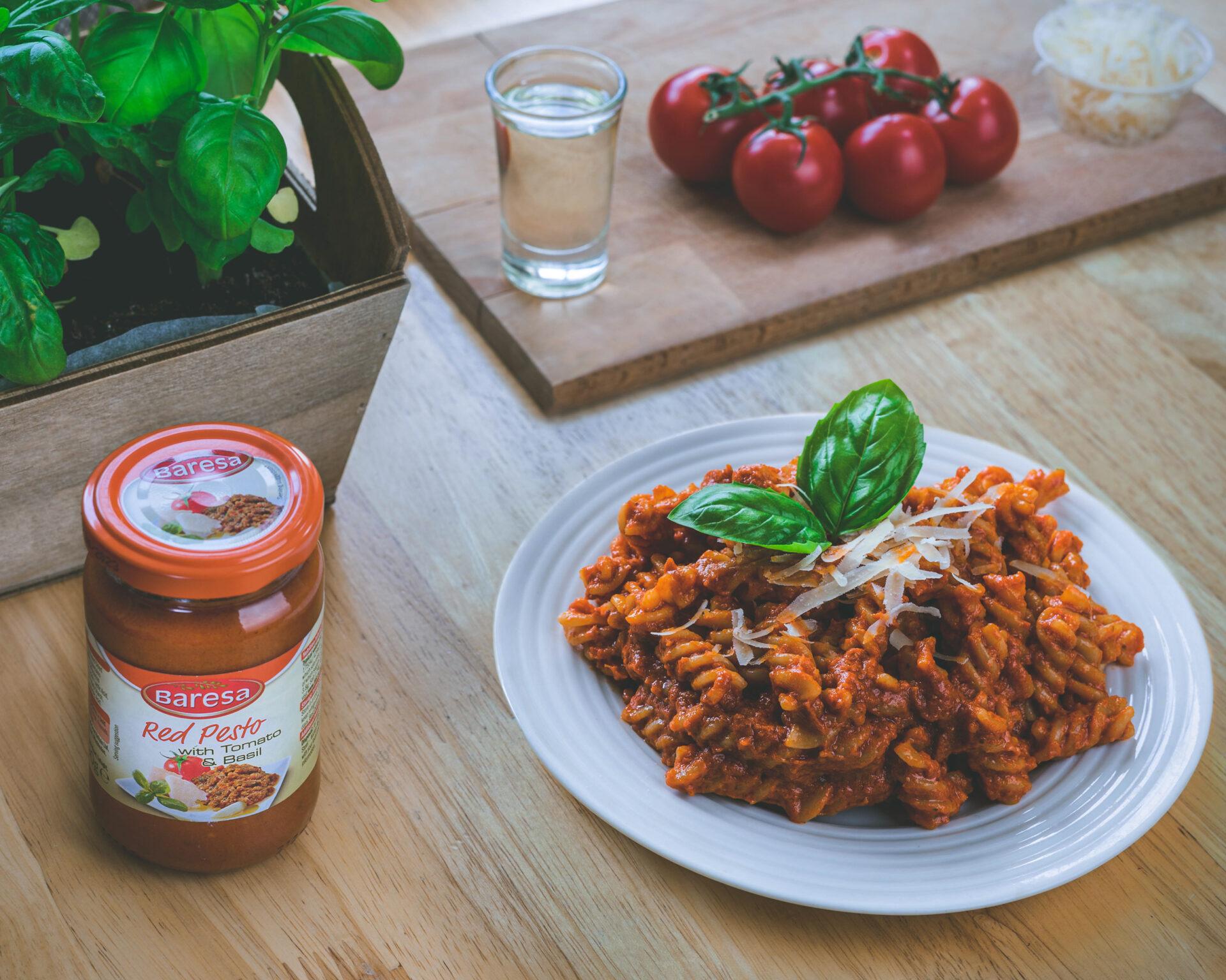 pasta and pesto baresa
